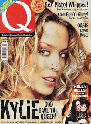 MINOGUE-- KYLIE - 'Q' - June 2002 - Kylie On The Cover - 1