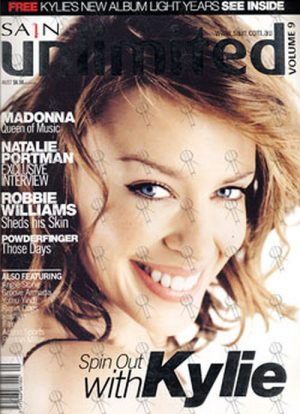 MINOGUE-- KYLIE - 'Sain Unlimited' - December 2000 - Kylie Minogue On Cover - 1