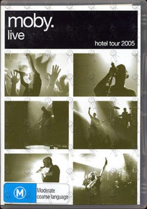 MOBY - Live - Hotel Tour 2005 - 1