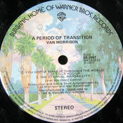 MORRISON-- VAN - A Period Of Transition - 3