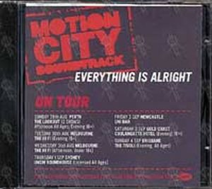 MOTION CITY SOUNDTRACK - Everything Is Alright - 1