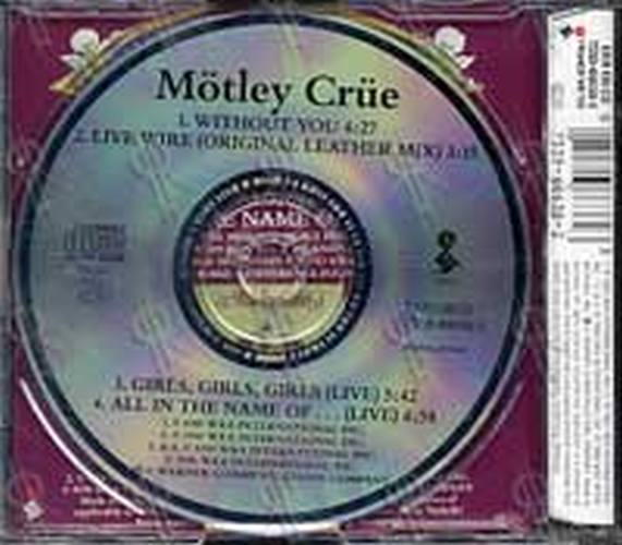 MOTLEY CRUE - Without You - 2