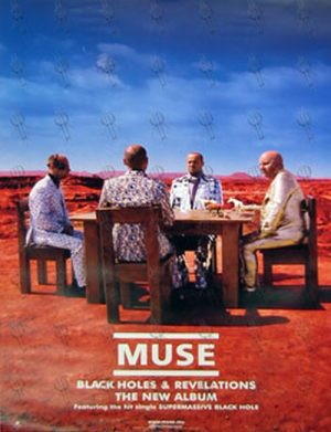 MUSE - 'Black Holes And Revelations' Album Poster - 1
