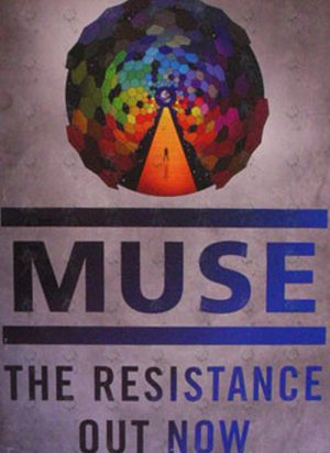 MUSE - 'The Resistance' Album Promo Poster - 1