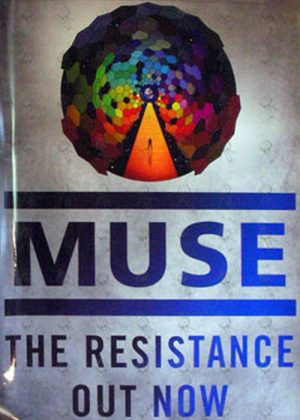 MUSE - 'The Resistance' Promo Poster - 1