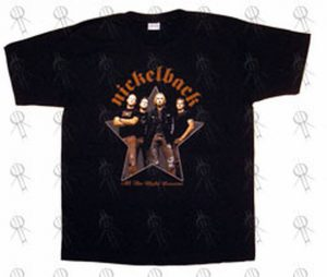NICKELBACK - Black 'All The Right Reasons' 2006 Tour T-Shirt - 1