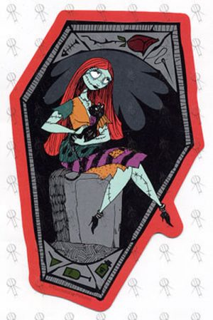 NIGHTMARE BEFORE CHRISTMAS-- THE - Form Cut Sally Sticker - 1