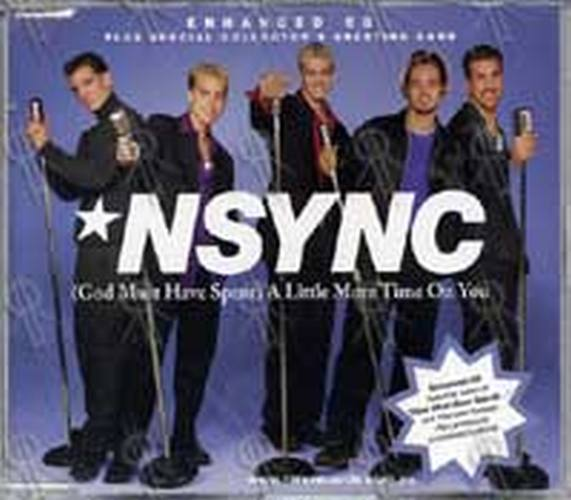 NSYNC - (God Must Have Spent) Little More Time With You - 1