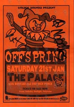 OFFSPRING-- THE - 21st January 1995 - The Palace