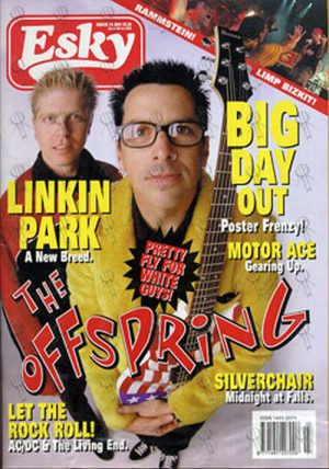 OFFSPRING-- THE - 'Esky' - March 2001 - Offspring On Front Cover - 1