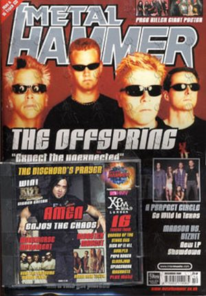 OFFSPRING-- THE - 'Metal Hammer' - December 2000 - The Offspring On Cover - 1
