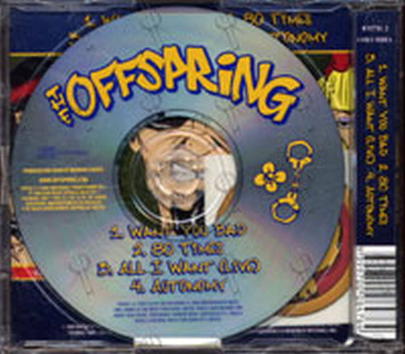 OFFSPRING-- THE - Want You Bad - 2