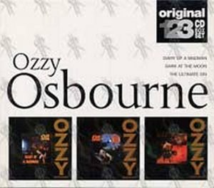 OSBOURNE-- OZZY - Diary Of A Madman/Bark At The Moon/The Ultimate Sin - 1