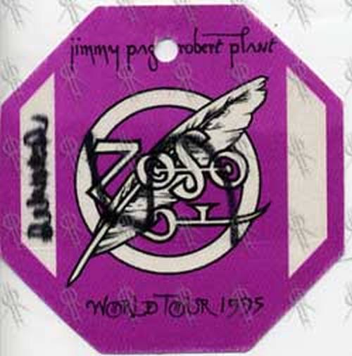 PAGE AND PLANT - 1995 World Tour Pass - 1
