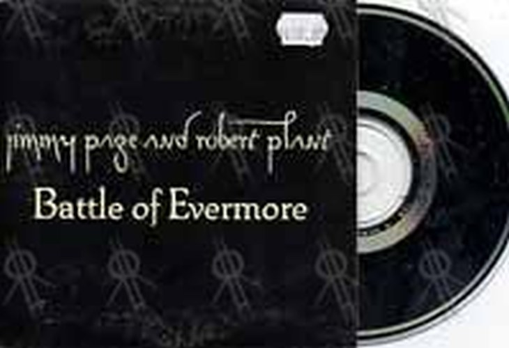 PAGE AND PLANT - Battle Of Evermore - 1