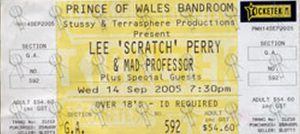 PERRY-- LEE SCRATCH - Prince Of Wales