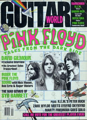 PINK FLOYD - 'Guitar World' February 1993 - Pink Floyd On Front Cover - 1