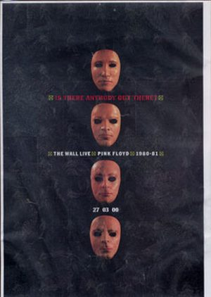 PINK FLOYD - 'Is There Anybody Out There?' A4 Press Release - 1