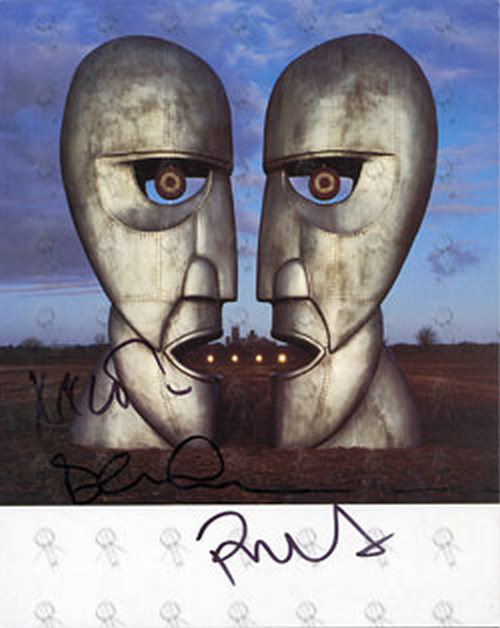 PINK FLOYD - 'The Division Bell' Promo Card - 1
