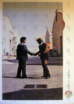 PINK FLOYD - 'Wish You Were Here' Album Poster - 1