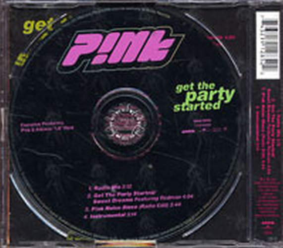 PINK - Get The Party Started - 2
