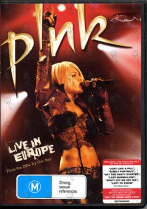 PINK - Live In Europe - 1