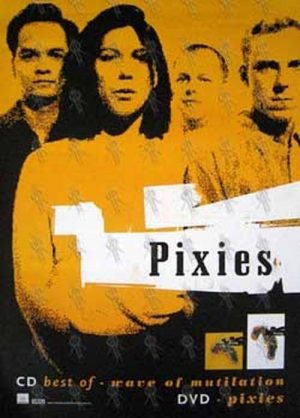 PIXIES - 'The Best Of - Wave Of Mutilation' Album/'Pixies' DVD Poster - 1