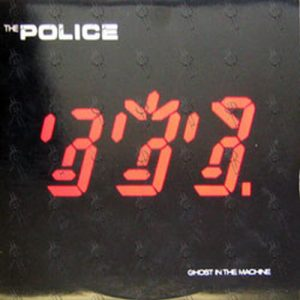 POLICE-- THE - Ghost In The Machine - 1