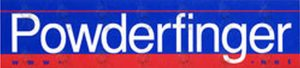 POWDERFINGER - 'www.powderfinger.com' Promo Sticker - 1
