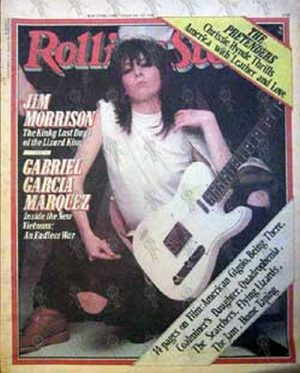 PRETENDERS-- THE - 'Rolling Stone' - May 29th