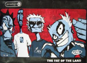 PRODIGY - 'The Fat Of The Land' Band Cartoon Poster - 1