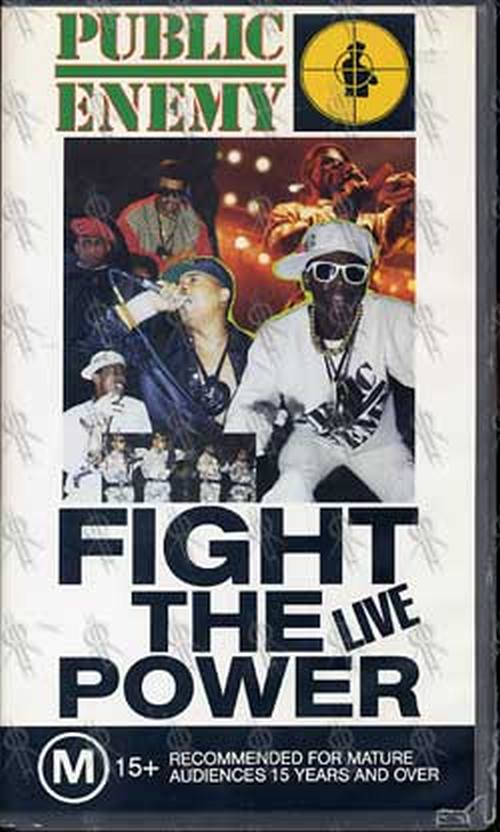 PUBLIC ENEMY - Fight The Power LIVE - 1