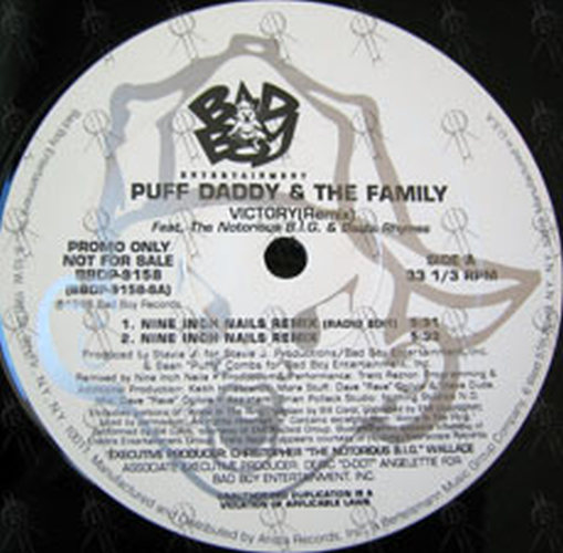 PUFF DADDY AND THE FAMILY - Victory - 3
