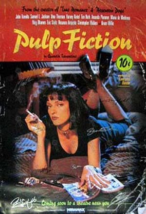 PULP FICTION - 'Pulp Fiction' Movie Poster - 1