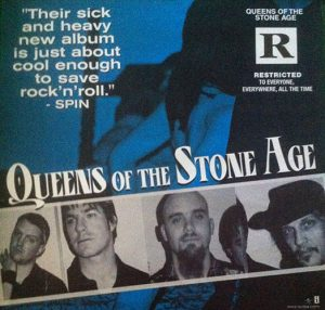 QUEENS OF THE STONE AGE - 'Rated R' Promo Poster - 1