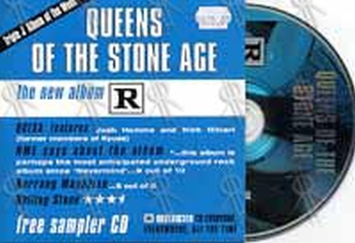 QUEENS OF THE STONE AGE - 'Rated R' Sampler - 1
