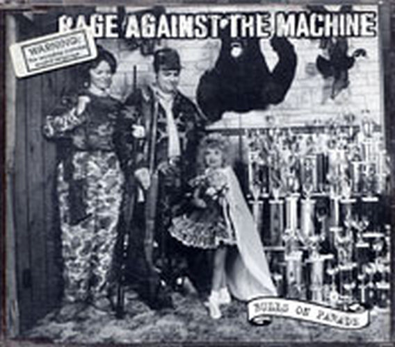 RAGE AGAINST THE MACHINE - Bulls On Parade - 1