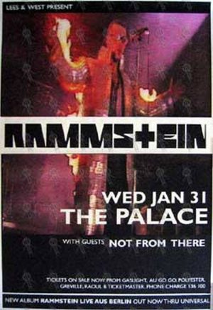 RAMMSTEIN - 'The Palace