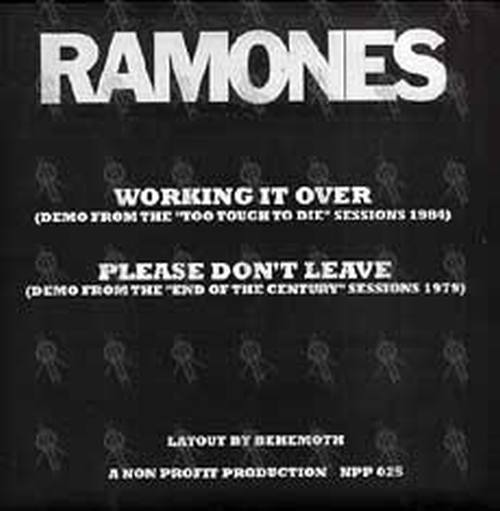 RAMONES - We're Getting Out Of Here! - 2
