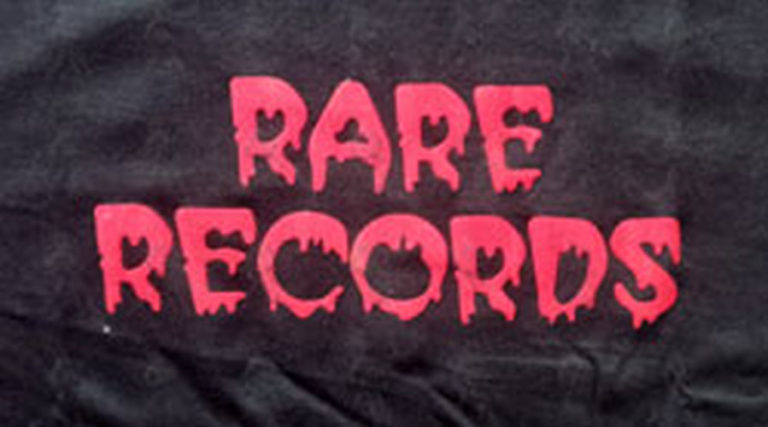 RARE RECORDS - Limited Edition Black With Red Logo T-Shirt - 2
