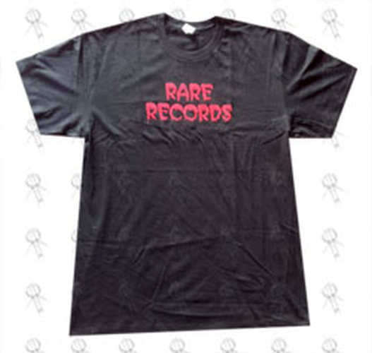 RARE RECORDS - Limited Edition Black With Red Logo T-Shirt - 1