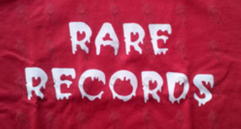 RARE RECORDS - Limited Edition Red With White Logo T-Shirt - 2