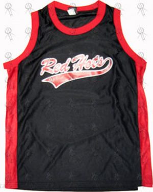 RED HOT CHILI PEPPERS - Black Basketball Jersey/Singlet - 1
