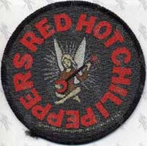 RED HOT CHILI PEPPERS - 'Red Hot Chili Peppers' Embroidered Patch - 1