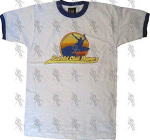 RED HOT CHILI PEPPERS - White Beach Design T-Shirt - 1