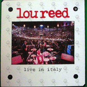 REED-- LOU - Live In Italy - 1