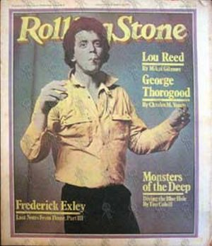 REED-- LOU - 'Rolling Stone' - March 22nd 1979 - No. 278 - 1