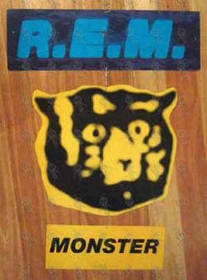 REM - 'Monster' Hanging Record Store Display - 1