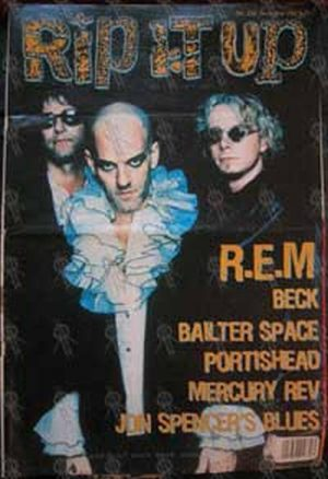 REM - 'Rip It Up' - No.255 December 1998 - R.E.M. On The Cover - 1