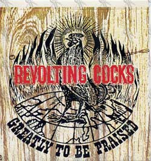 REVOLTING COCKS - 'Greatly To Be Praised' Album Sticker - 1